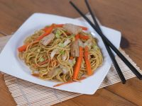 Japanese Dish Of Fried Wheat Noodles